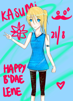 HAPPY BIRTHDAY LENEEEEE by Chii-akii