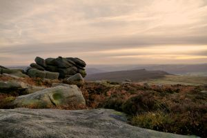 A View from Higger Tor by Lazlowoodbine2010