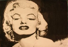 Marilyn Monroe (finished) by kfirc8