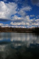 Cloudy Lake Stock by redwolf518stock