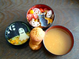 Halloween bento by Vetriz
