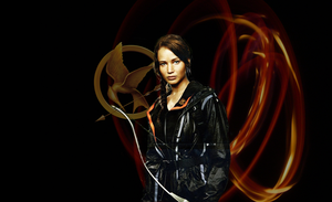 Girl on Fire Textless wallpaper by mewpearl