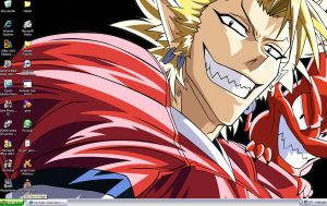 Hiruma Desktop deux by Buttertoast12