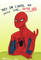 Spider puns_for IamForeverFree by lauri244