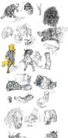 Sketchdump 17/10/13 by Masked-lion