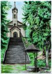 Pilgrimage Church of the Visitation in Koclerov by neral85
