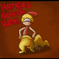 HATERS GONNA HATE -- Zuruggu by Skystalker