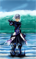 Commission - KH Riku by MaximumImpulse