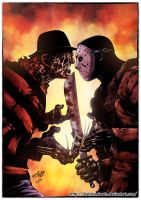 Freddy Vs Jason by diabolumberto