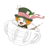 Mad Hatter On Crack by teh-muffin-thing