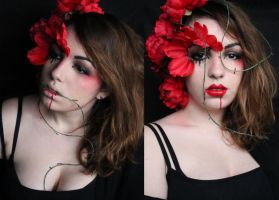 Queen of Roses Makeup! by SelyaMakeup