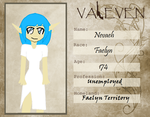 Nevaeh (Valeven Application) by TatiLuvsManga