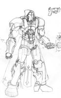 Mech Design - The Pious by AngelFether