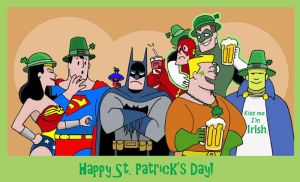A Justice St. Patty's Day by The-BlackCat