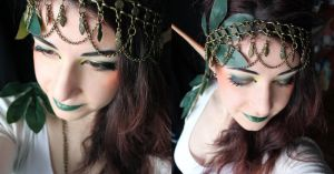 Wood Elf Makeup by SelyaMakeup
