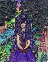 Fairy and Butterfly by LunaArcanum18