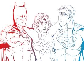 Super Friends by zepolnylarom