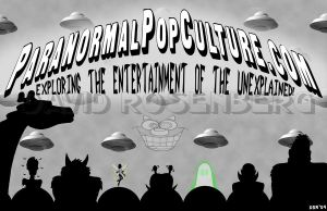Paranormal Pop Culture 02 by Gonzocartooncompany