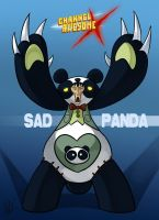 CAX - SadPanda by AndrewDickman