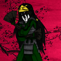 Kyoshi Warrior Toph by AngelKittyChan