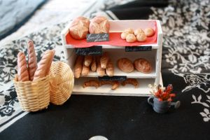 miniature french bakery by star--crossed
