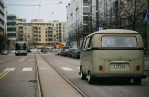 VW hippievan by Laiskiainen