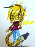 .:: William colored ::. by Invisible-Wings95