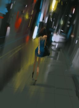 Walking by zhuzhu