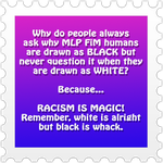 Racism is Magic :D by I-Dream-of-Speed