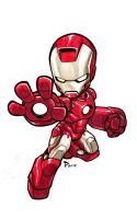 Sketchbook _ IronMan by thekidKaos