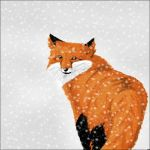 -+Fox in the Snow+- by windrider01