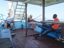 Gambia offers many opportunities for fishing by slingeraar