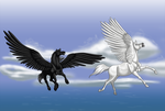 The Lady and the Pegasus part 5 -- Commission by Zareefa-Arts