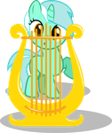 Lyra Cutie Mark by UP1TER