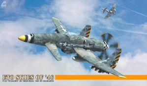 Skies of '46 by Rob-Caswell