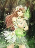 Forest Lady by WC-TahoGi