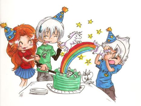 Happy Birthday Gin Ichimaru by Destined2Rock