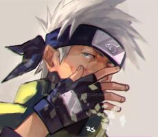 kakashi by redsaka