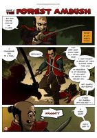Ronin Blood, issue2, page 1 by EMPAYAcomics