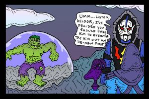 HULK in Etheria by Lordwormm