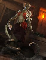 The Serpent Queen by RawArt3d