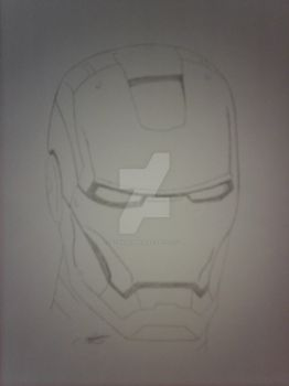 Iron Man sketch by satanspawn80