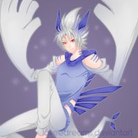 Lugia Human Version by loveedreams