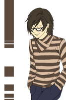 STRIPED SWEATER OMG by Gaz-Monster