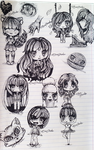 Chibi Collection :D by BlueThunderIL