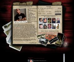 MySpace Layout by scrove