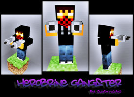 Herobrine Gangster by GhosT-Player