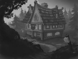 Tavern by lowly-owly