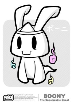 Boony - The Uncolorable Ghost by FeyoRelatif