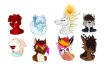 first batch of busts! by Summer-Boy